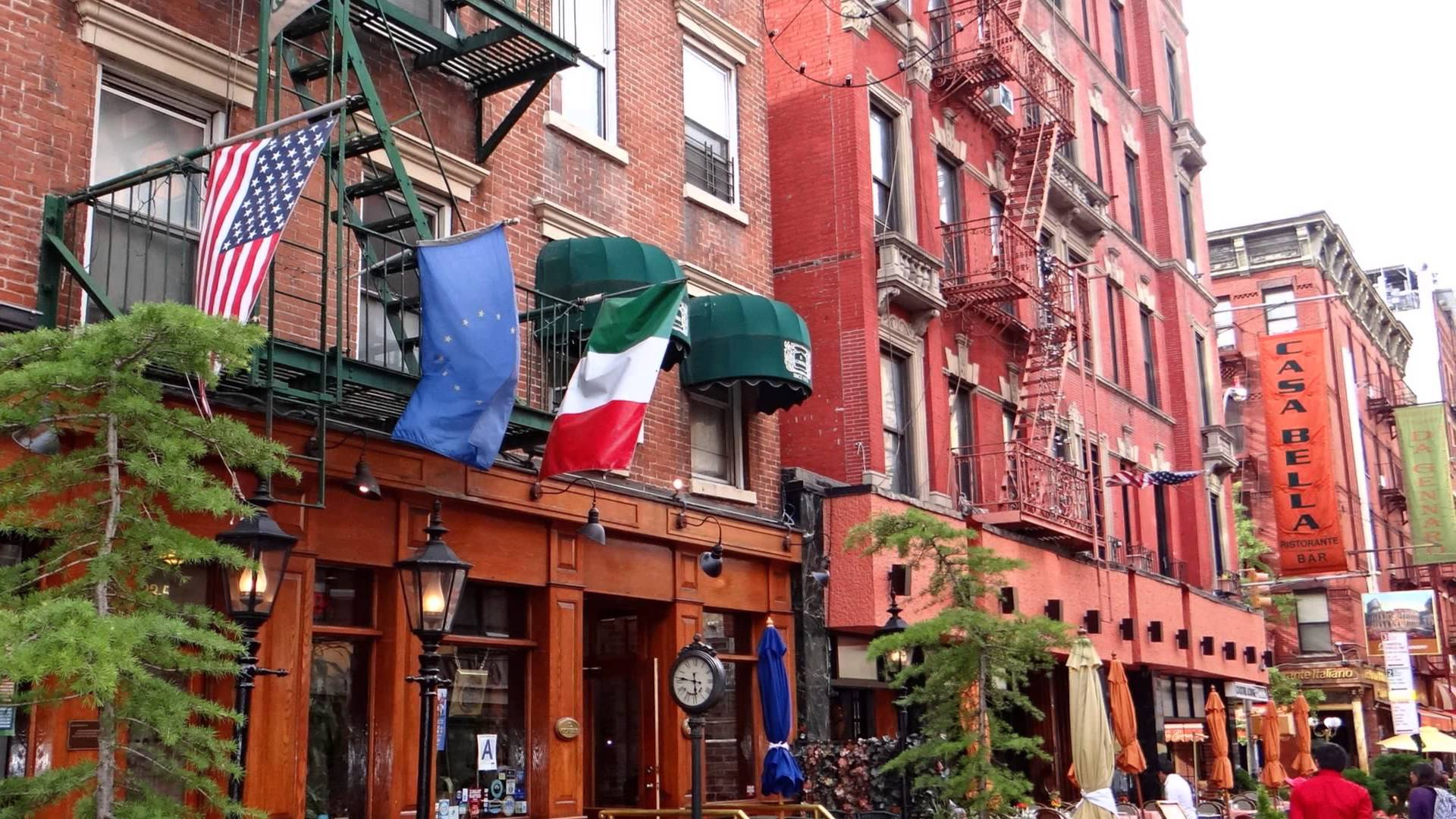 Ny Little Italy Mulberry Street Then Now
