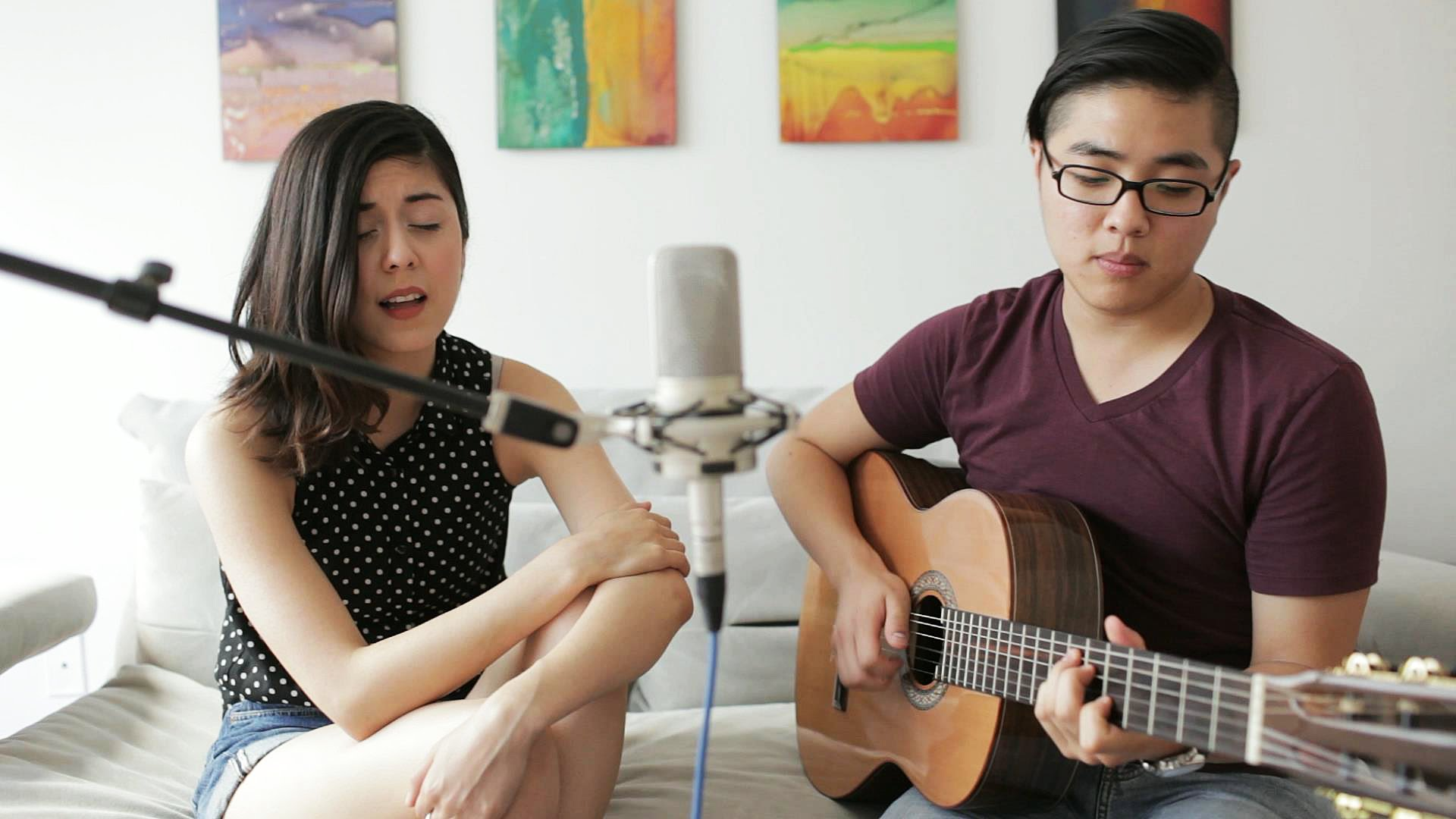 "Cover of ""Stars Fell On Alabama"" by Daniela Andrade & Hanbyul K..."